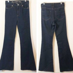 Abercrombie & Fitch High Waist flare jeans 2 26/34
